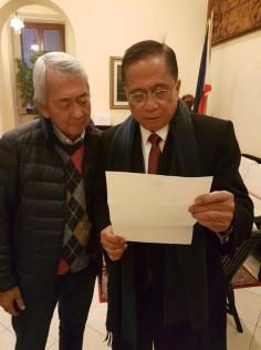 """Foreign Affairs Sec. Perfecto """"Jun"""" Yasay"""
