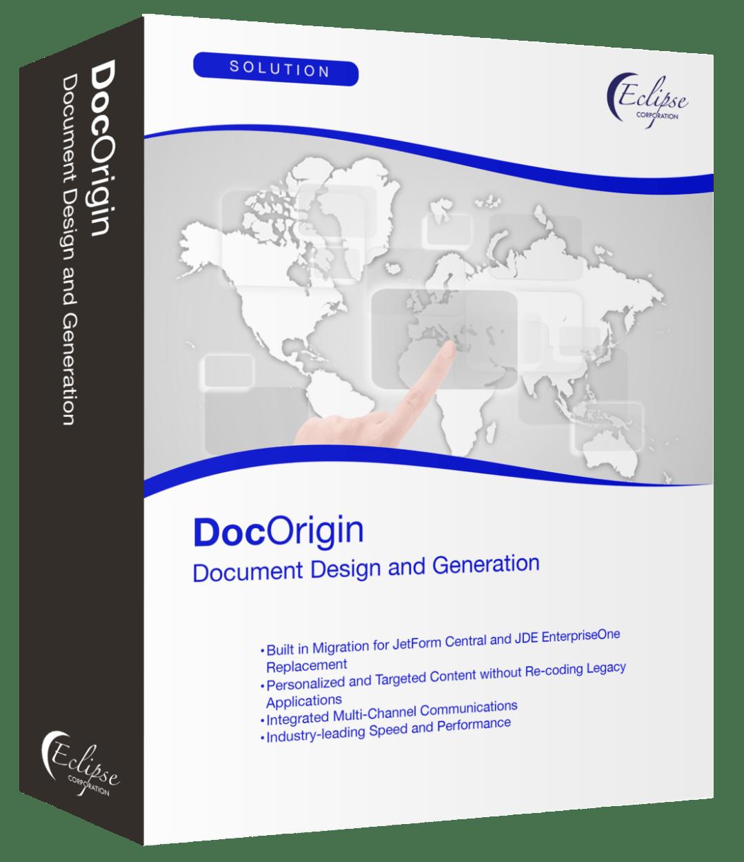 DocWizard vs Native E1 Form comparison