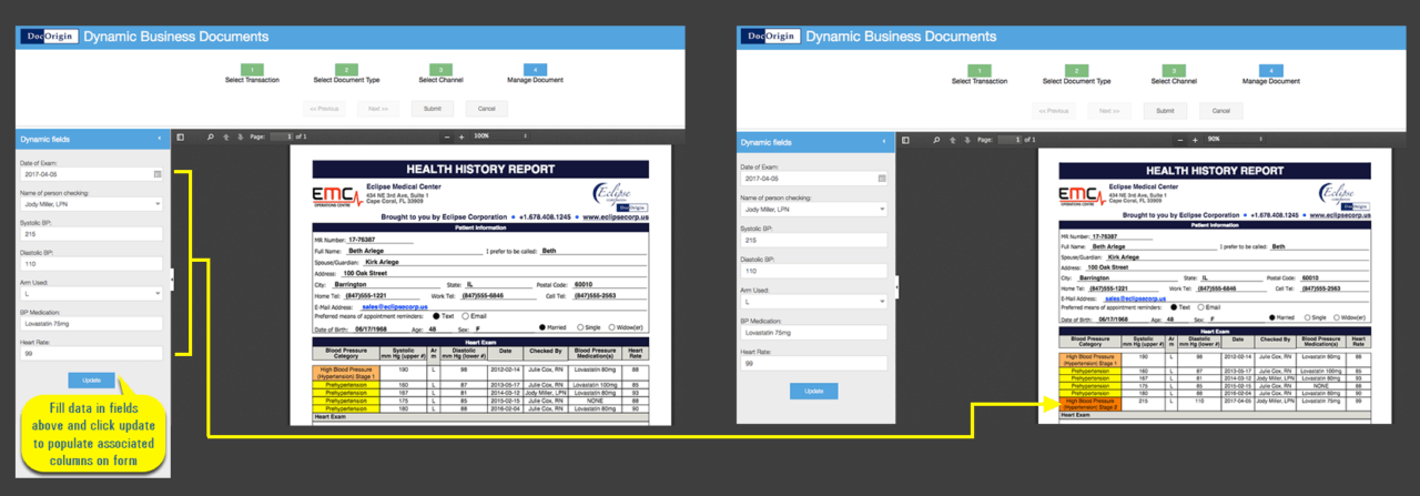 Dynamic business documents personalized eclipse corporation in the fourth step of dynamic business documents enter the relevant data in the dynamic fields on the left update and submit cheaphphosting Images