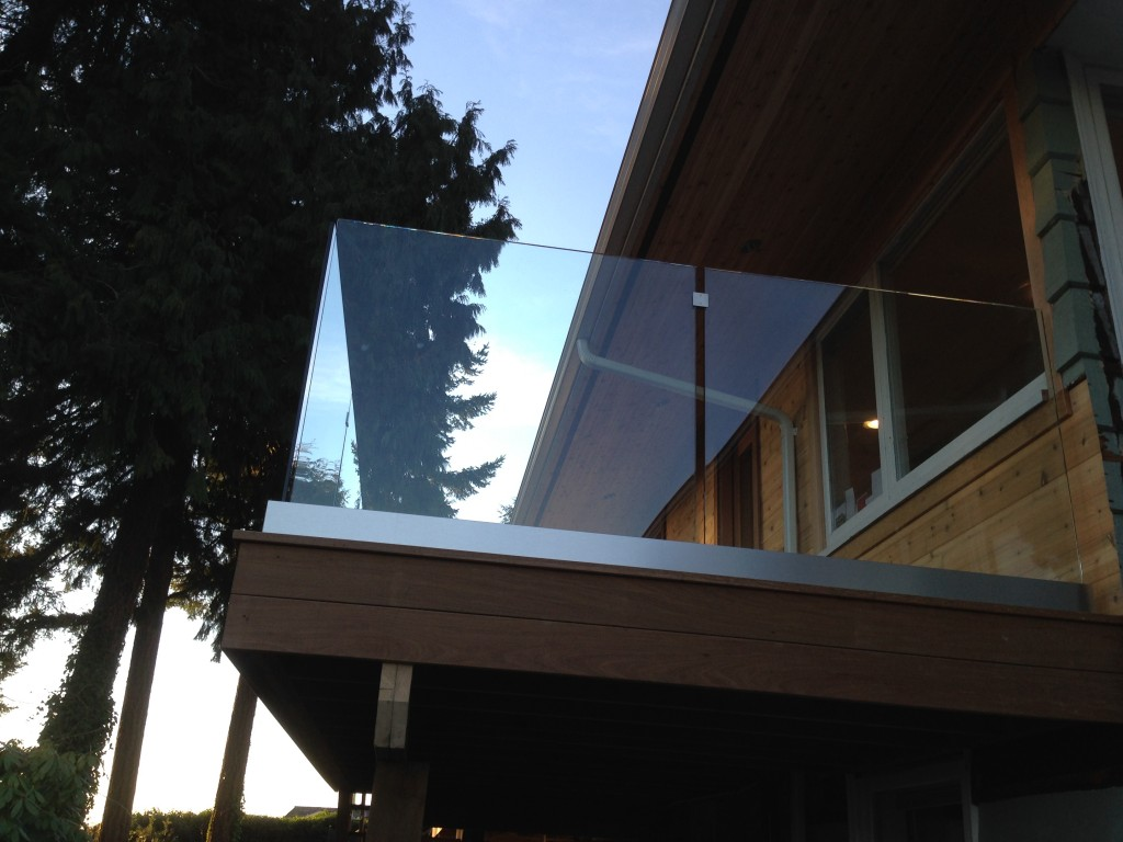 Recent Project Exterior Railings In West Vancouver