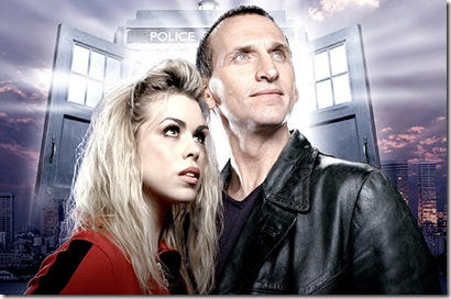 DOCTOR WHO -- SCI FI Channel Series -- Pictured: (l-r) Billie Piper, Christopher Eccleston -- FOR EDITORIAL USE ONLY -- DO NOT RE-SELL/ DO NOT ARCHIVE