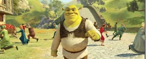 Shrek Scares People