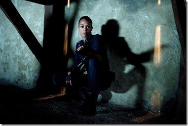 "Zoe Saldana as ""Cataleya"" in Columbia Pictures' COLOMBIANA."