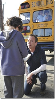 TOUCH: Martin (Kiefer Sutherland, R) tries to understand his son Jake (David Mazouz, L) in TOUCH which debuts with a special preview Wednesday, Jan. 25 (9:00-10:07 PM ET/PT) and then makes its series premiere Monday, March 19 (9:00-10:00 PM ET/PT) on FOX. ©2012 Fox Broadcasting Co. Cr: Richard Foreman/FOX