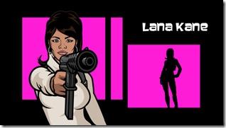 """ARCHER: """"Lana Kane"""" as voiced by Aisha Tyler"""