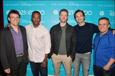 CaptainAmerica Cast at Disney D23 Expo
