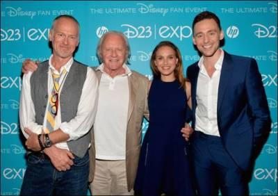 ThorDarkWorld Cast at Disney D23 Expo