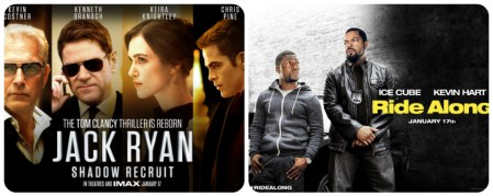Jack Ryan and Ride Along