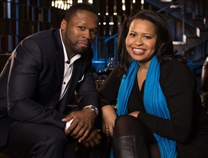 Curtis 50 Cent Jackson and Courtney Kemp Agboh