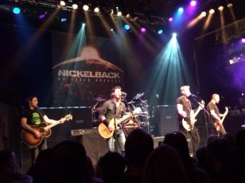 Nickelback HOB show 11-6-14