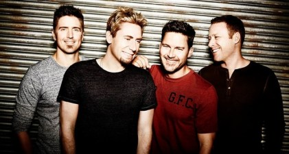 Nickelback No Fixed Address group photo 11-6-14