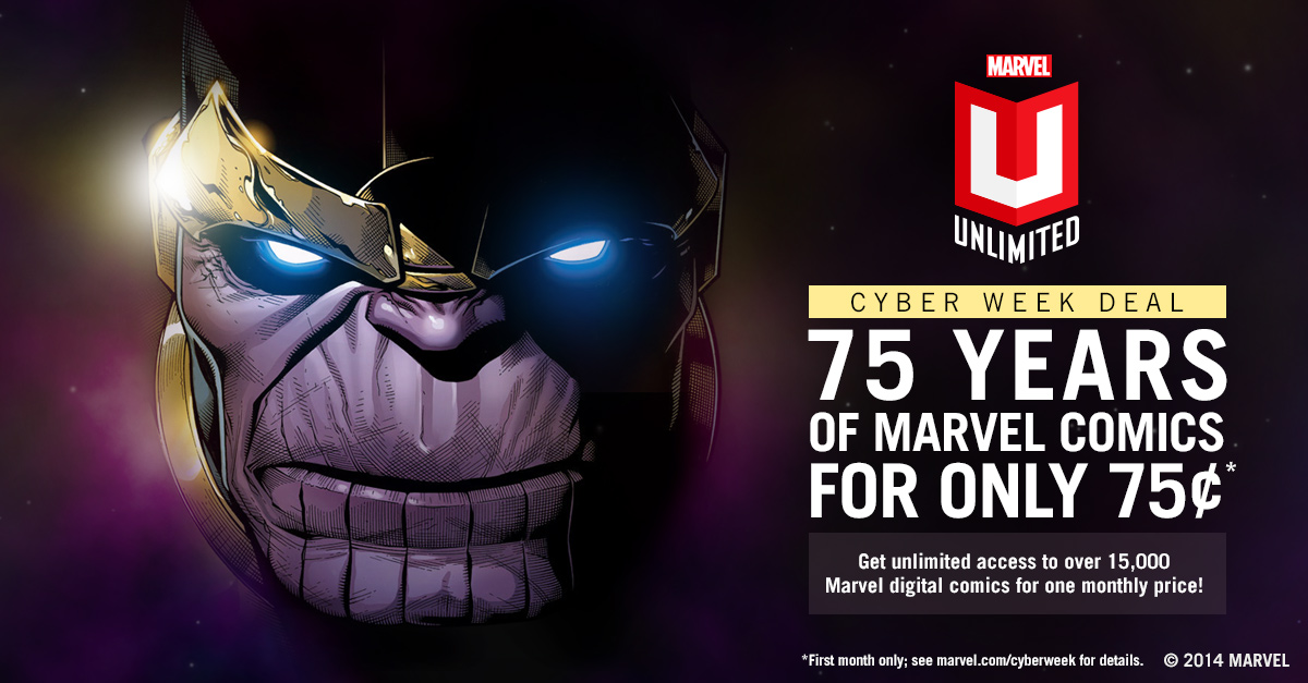 Expired Marvel Digital Comics Unlimited Coupons