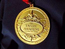 Taste Awards medal 1-16-15