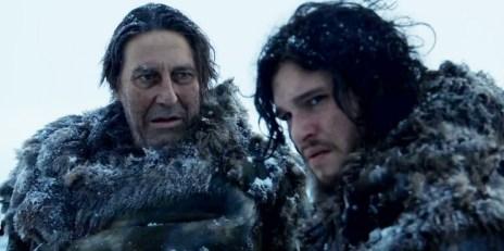 Game of Thrones - Mance Rayder & Jon Snow