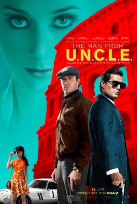 UNCLE - Colorful 1-sheet