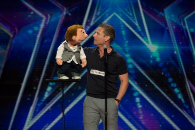 "AMERICA'S GOT TALENT -- ""Los Angeles Auditions"" Dolby Theater -- Pictured: Paul Zerdin -- (Photo by: Isabella Vosmikova/NBC)"
