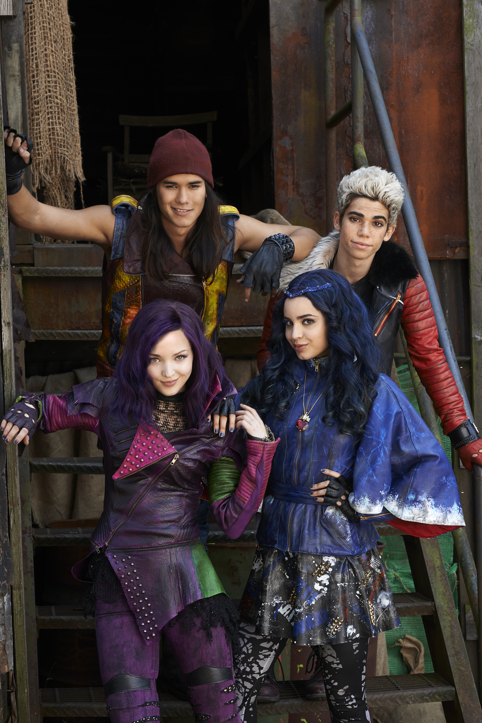 disney's descendants characters - HD 2002×3000