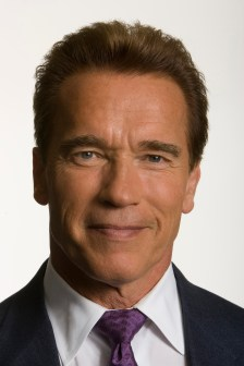 Governor Arnold Schwarzenegger poses for portraits at the Capitol on Wednesday, July 12, 2006.