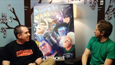 SuperMansion Senreich Wells interview 2 10-8-15