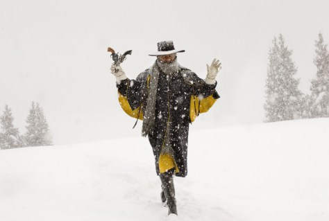 SAMUEL L. JACKSON stars in THE HATEFUL EIGHT. Photo: Andrew Cooper, SMPSP © 2015 The Weinstein Company. All Rights Reserved.