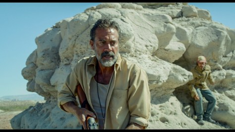 (L to R) JEFFREY DEAN MORGAN and GAEL GARCIA BERNAL star in DESIERTO.