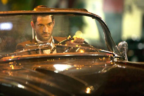 LUCIFER:  Pictured:  Tom Ellis as Lucifer. ©2015 Fox Broadcasting Co. CR: John P. Fleenor/FOX