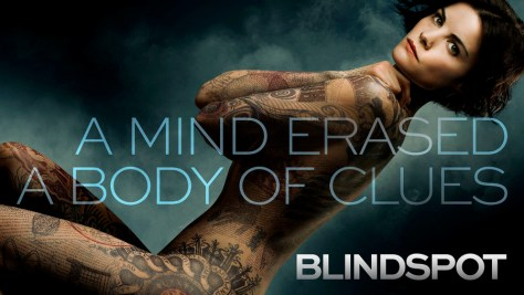 "BLINDSPOT -- Pictured: ""Blindspot"" vertical key art -- (Photo by: NBCUniversal)"