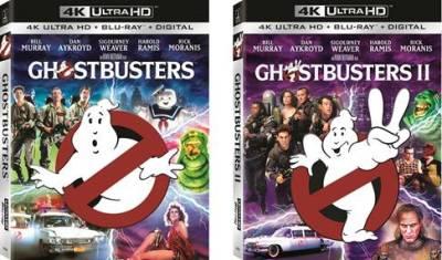 Ghostbusters 1 & 2 4K