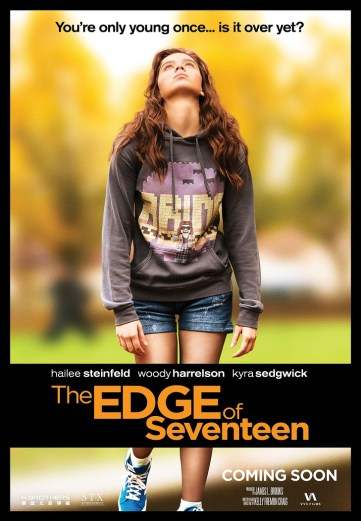 The Edge of Seventeen Theatrical Poster_sml