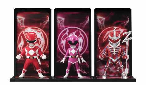 Red Ranger, Pink Ranger, Lord Zed