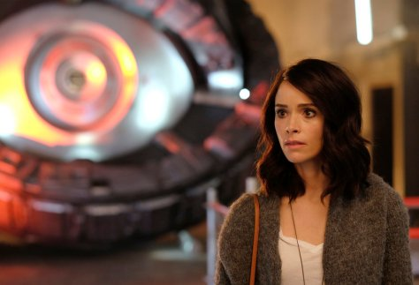 "TIMELESS -- ""Pilot"" -- Pictured: Abigail Spencer as Lucy Preston -- (Photo by: Joe Lederer/NBC)"