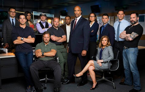 Full Cast of the CBS series HUNTED Photo: Monty Brinton/CBS ©2016 CBS Broadcasting, Inc. All Rights Reserved