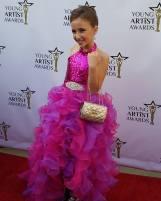 YAA nominee Ava Kolker (Girl Meets World) walks the red carpet!