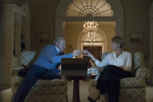 House Of Cards: Season 5 - Francis Underwood (Kevin Spacey), Claire Underwood (Robin Wright) - Photo ny Amanda Maes/Courtesy of Netflix