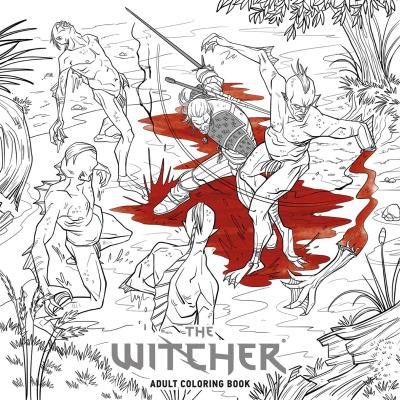 Dark Horse Releasing Spellbinding The Witcher Adult Coloring Book