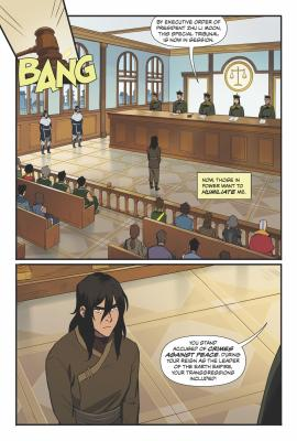First Look: Dark Horse Adds to The Legend of Korra with New