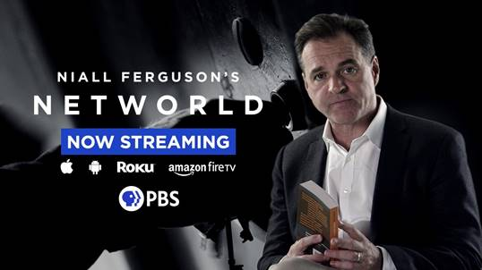 Disinformation on Social Networks Tackled on Niall Ferguson's Networld!