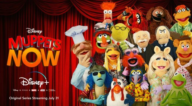 The Pig's Out of the Bag! Muppets Now to Premiere Disney+ in July!