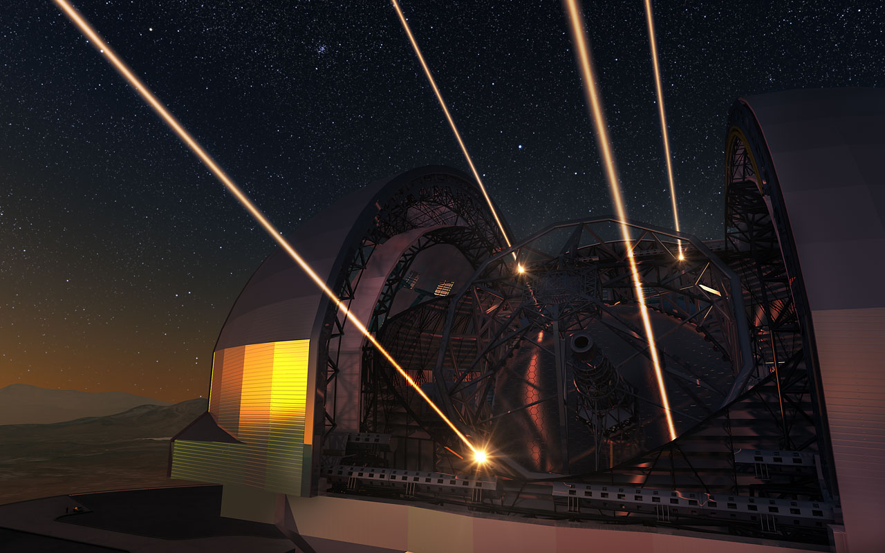 Adaptive Optics in Extremely Large Telescopes – ECMI