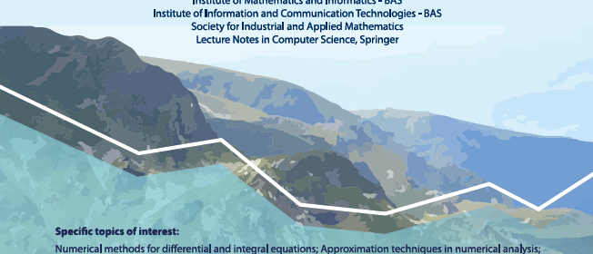 Conference on Numerical Methods and Applications, NM&A'18 August 20