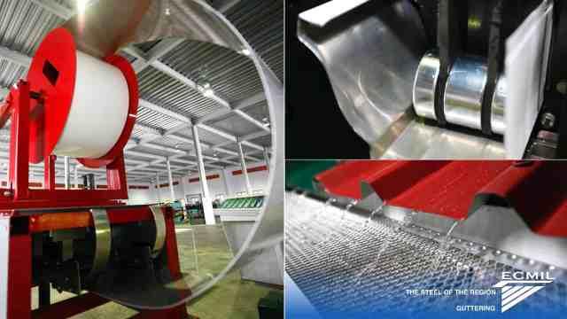 ECMIL- K-Style Aluminium Guttering - more...
