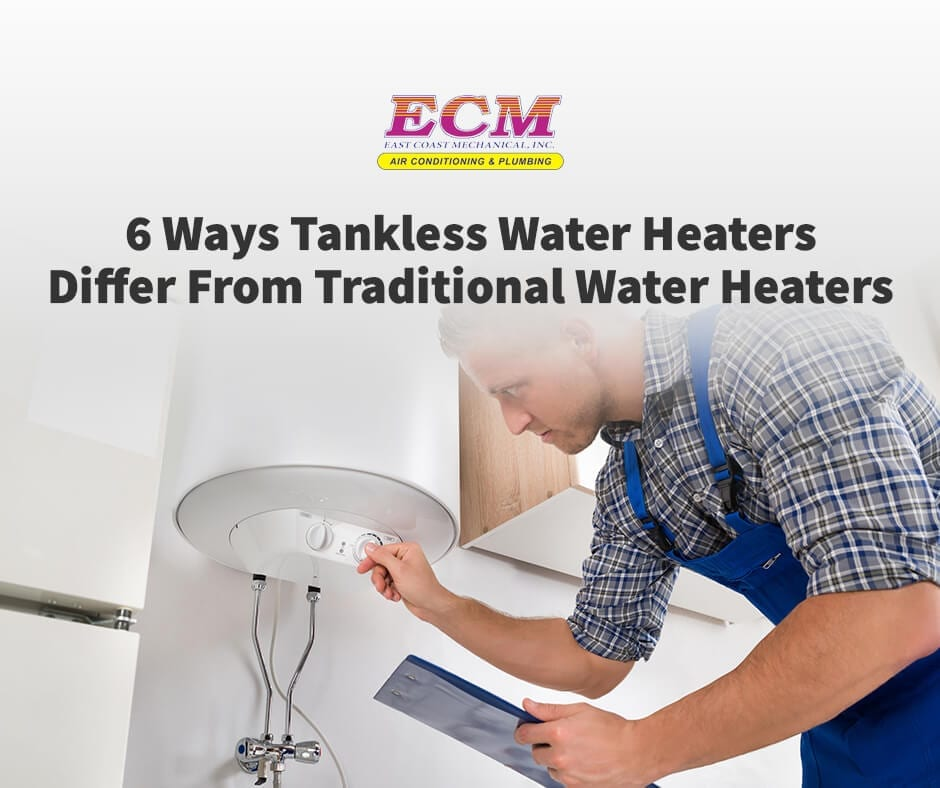 6 Ways Tankless Water Heaters Differ From Traditional Water Heaters