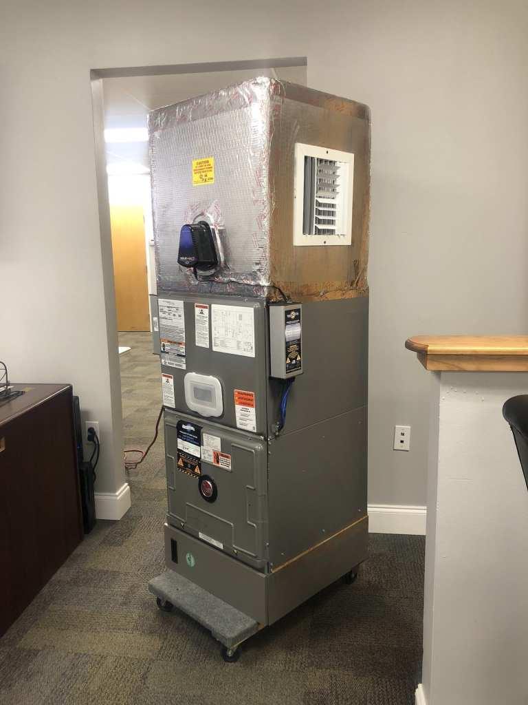 ECM Built a Custom Hospital Grade HEPA Air Scrubber