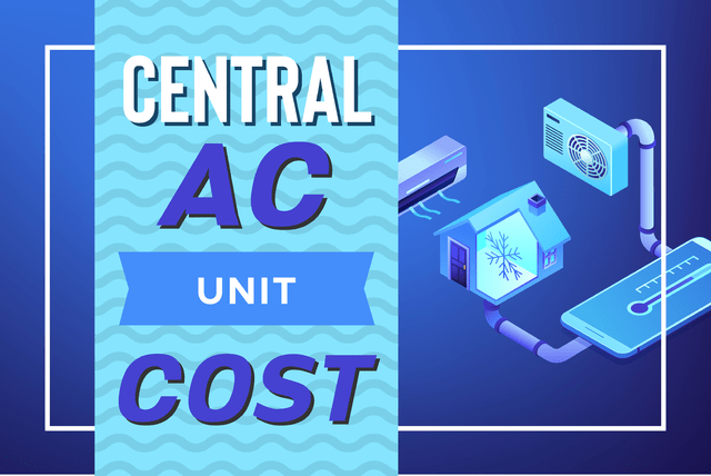 central ac unit cost