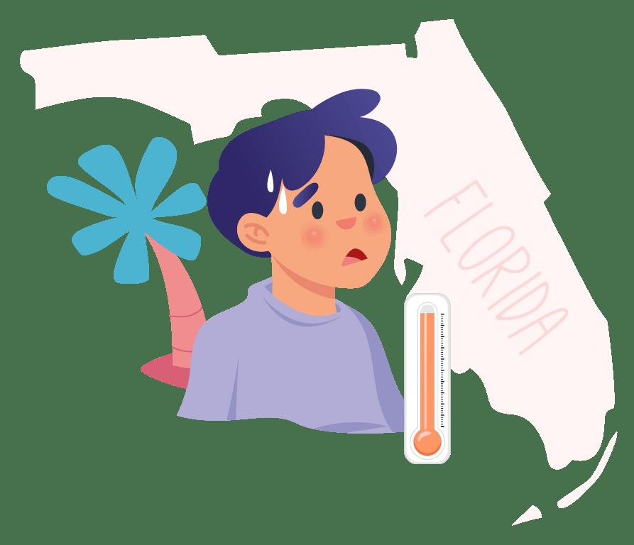 Florida heat index