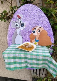 eggs lady and tramp