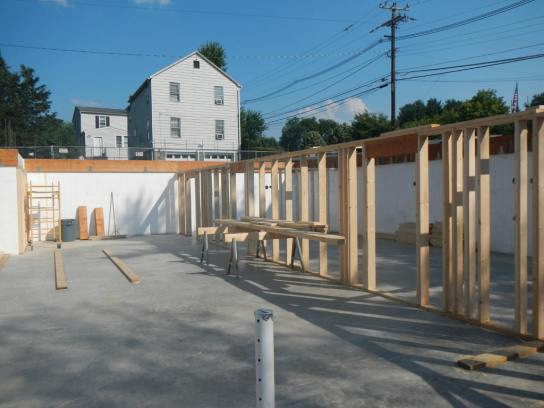 231 Main Street project framing