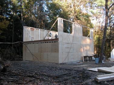 Alfandre Guest House exterior construction
