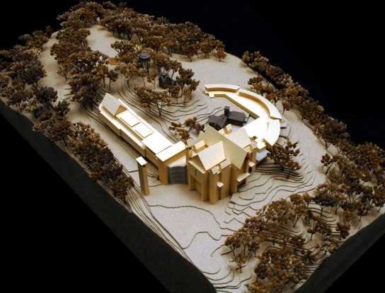 St Francis Friary Scale Model