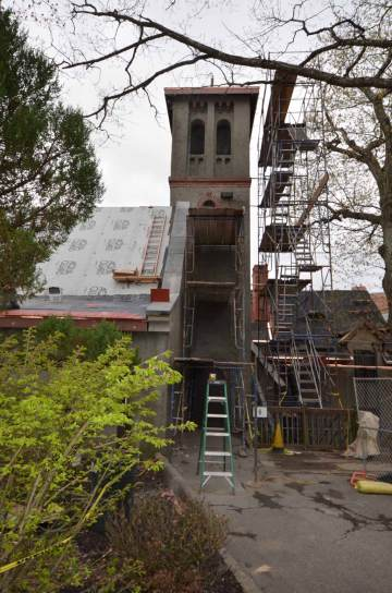 St Francis Friary Scaffolding